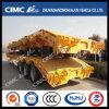 Cimc de Semi Aanhangwagen van Lowbed van de tri-As Huajun met Vastgeboute Helling