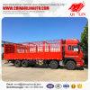 De Vrachtwagen van de Doos van de Lading van het Vervoer van dieren met Opvouwbare Deuren
