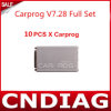 10PCS all'ingrosso Carprog V7.28 Car Prog Full ECU Chip Tunning Carprog Full Programmer Highquality