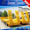 Camion de remorque de Dropdeck d'essieu du transporteur BPW d'excavatrice avec 12 pneus
