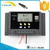 太陽系Sm30のための12V/24V 30A LCD二重USB-5Vの太陽コントローラ