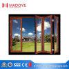 Fabrication en aluminium de porte de pliage de bâti en Chine