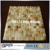 White / Yellow / Green Onyx Mosaic Backsplash pour la décoration murale de cuisine