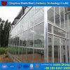 電流を通された鉄骨構造のガラス蓋のコマーシャルの温室