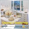 Оптовая продажа Countertop кварца нестандартной конструкции чисто белая с хорошим ценой
