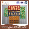 Вставки CNC твердого карбида Indexable