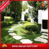 景色の庭のための人工的な緑の芝生の草10年の保証の