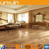 Plancher en bois imperméable à l'eau et sain durable de PVC de roulis de texture