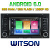 VW Touareg 2002-2010년을%s Witson Eight Core Android 6.0 Car DVD