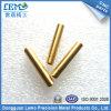 Китай подгонял Pin латуни высокой точности CNC Turining для электронной индустрии/бытовых устройств (LM-163M)