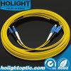 Sc à la fibre duplex Patchcord optique du SM 2.0mm de LC