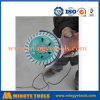 Turbo Diamond Cup Wheels Used on Angle Grinder Grinding Concrete