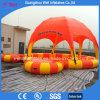 Круглый раздувной шатер бассеина с платформой для играть шарик воды