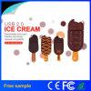 Mecanismo impulsor de destello del USB 2.0 promocionales del helado del regalo