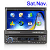 6.2 reproductores de DVD dobles GPS del coche del estruendo de la pulgada