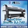 Epson Dx7 HeadsのプロッターEco Solventer Sinocolor Sj-740