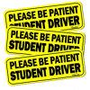 주문 고품질 학생 운전사 차 자석 표시