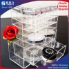 Étalage acrylique transparent de rouge à lievres de qualité