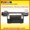 Lage Format Printing ULTRAVIOLETA Machine para Flatbed Sheet