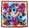 手の絵画絹のスカーフ(DS0913-2)