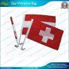 Bandeiras nacionais suíças do indicador de carro (B-NF08F01004)