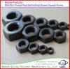 Noix Hex d'oxyde noir de qualité faite dans la noix de la Chine/bride/ecrou-papillon