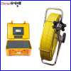 Système imperméable à l'eau Cr110-7y d'appareil-photo d'inspection de pipe avec le câble de fibre de verre du câble 120m en verre de fibre