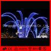 Luz al aire libre del adorno de la fuente del día de fiesta de la Navidad de la decoración