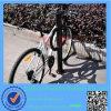 粉によって塗られる黒いバイクの立場の自転車ラック中国製