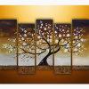 Belle peinture moderne de toile d'horizontal (KLLA5-0063)