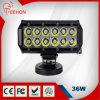 2520lm 7 guide optique de vente chaud d'inondation de pouce 12V 36W LED