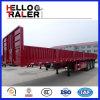 Neue Welle 3 60 Tonnen-Vorhang-Seiten-Schlussteil für Verkauf mit abnehmbarer Wand