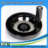 完全なスポークの手動ハンドル/固体手車輪