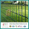 緑PVCは鋼鉄オランダの金網の溶接されたヨーロッパの塀に塗った