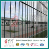 Le PVC a enduit double treillis métallique soudé de treillis métallique de bord par frontière de sécurité le double Fencre