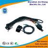 Connecteur de lumière de moulage étanche Harnais de câblage avec tube en PVC