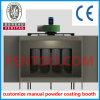 Nueva cabina de aerosol manual de la capa del polvo del acabamiento de la superficie de metal 2016