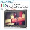중국 DSLR Camera를 위한 Feelworld New 7 Inch Image Adjustable IPS Slim Monitor Steady Cam