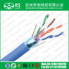 Blue Category 5e F / UTP 24 AWG 4 par Blinded Cable
