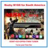 De nieuwe Doos Één Jaar Vrije Iks van Isdbt van de Ontvanger GPRS van Nusky N1g HD Vastgestelde Hoogste