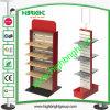 Crémaillère d'étalage en bois d'OEM pour les magasins au détail