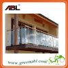 ステンレス鋼のバルコニーのガラス柵デザイン