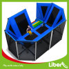 Size pequeno Indoor Jump Trampoline Park com Safety Approved