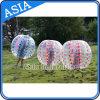 De calidad superior inflable burbuja balones de fútbol , durable Bumper Ball con los puntos de colores