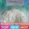 Clorhidrato sin procesar anestésico de la lidocaína del polvo de la pureza elevada (ácido clorhídrico de la lidocaína)