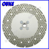 Diamond Electroplated Saw Blade avec Flange