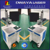 Feito na máquina de gravura do laser do laser do plástico da ferragem da máquina da marcação do laser da fibra de Guangzhou 20 W com garantia de comércio