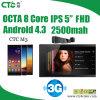 Mtk6572 Dual Core 1.3GHz Android 4.2 мобильный телефон 1080P IPS 5