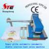 Pneumatic T Shirt Heat Printing Machine 40*50cm Upper Glide Automatic Pneumatic Double Station Heat Press Machine Double Station Heat Transfer Machine