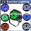 18X10W 4 en 1 RGBW LED PAR Waterproof DJ Lights para Concert Stage Lighting